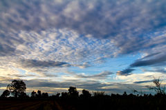 Morning sky clouds Royalty Free Stock Images
