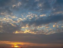 The Morning Relaxing Sky Royalty Free Stock Image