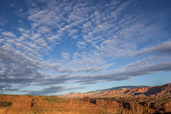 Morning sky over Capitol Reef National Park Stock Photography
