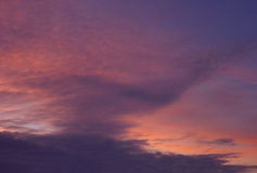 The morning sky Stock Photography