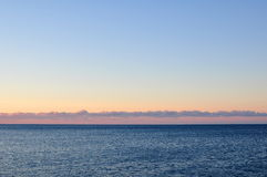 Morning Sky and Sea Royalty Free Stock Photo