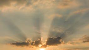 Beautiful morning sky with sun rays. Morning sky with sun rays royalty free stock photo