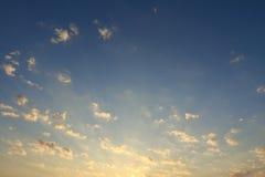 Morning sky and sunrise light background #2 Royalty Free Stock Images