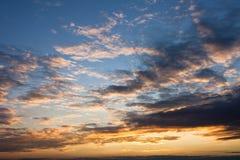 Morning skylight sunshine. Landscape with morning light sunshine vivid colors Stock Photos