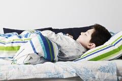 Morning sleep closeup Stock Photography
