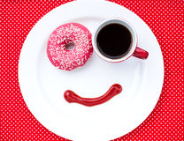 Morning smile royalty free stock photos