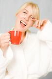 Morning smile Stock Photography