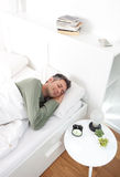 Morning snooze Stock Images