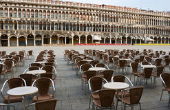 Morning on St. Mark's Square Stock Photography