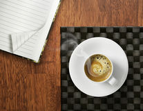 Morning start with coffee Royalty Free Stock Photo