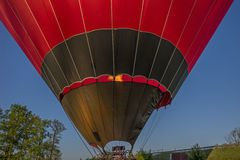 Morning start of a Hot air balloons Stock Photo