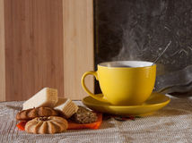 Morning still life royalty free stock photography
