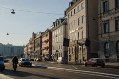 Morning in Stockholm, Sweden Royalty Free Stock Photos