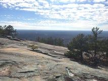 Morning at stone mountain Royalty Free Stock Photo