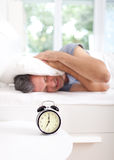 Morning stress Royalty Free Stock Image