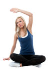 Morning stretching Stock Photography