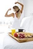 Morning stretching Royalty Free Stock Photography