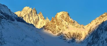 Morning summits Royalty Free Stock Image