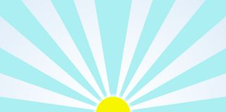 Morning Sun Graphic During Sunrise Clip Art Stock Images
