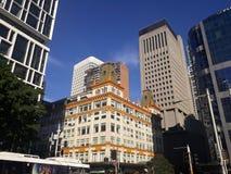 Morning sun light at beautiful building in Sydney, Australia. Morning sun light beautiful building sydney stock photo