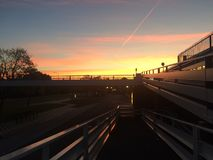 Morning sun royalty free stock photography