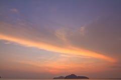 The morning sunlight Stock Image