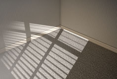 Morning Sunlight Empty Room Stock Photos