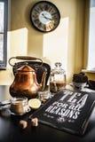 Sunny morning tea Royalty Free Stock Photos