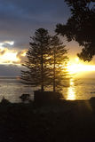 Morning sunrise at Azores islands Royalty Free Stock Image
