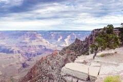 Morning Sunrise Hour at Incredible Grand Canyon Stock Photo