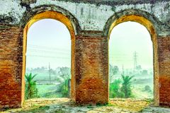Morning Sunrise Lucknow stock photography