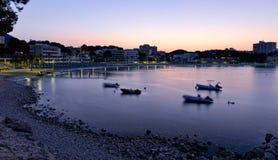 Morning Sunrise in Majorca Stock Image