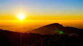 Morning sunrise Stock Photography