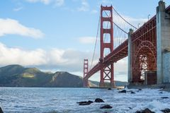 The Golden Gate bridge, San Francisco,California,United States of America. stock photography