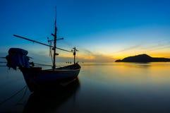 Morning sunrise at Sam Roi Tod beach Stock Photo