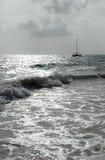 Morning surf Stock Image