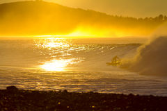 Morning surf Royalty Free Stock Photography