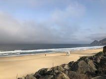 Morning Surfing Sessions at Montara California royalty free stock photo