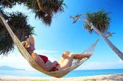 Morning swing Royalty Free Stock Images