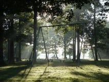 Morning Swings Royalty Free Stock Image