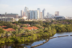 Morning In Tampa Royalty Free Stock Photography