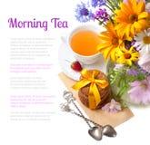 Morning Tea Stock Image