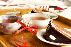 Morning tea Stock Images