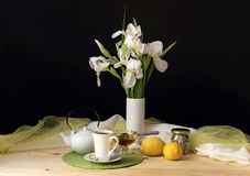 The morning tea Royalty Free Stock Image