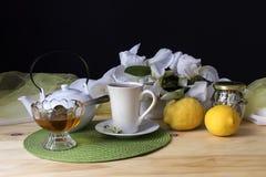 The morning tea Stock Photos