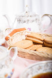Morning tea concept. Royalty Free Stock Images