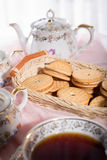 Morning tea concept. Stock Photography