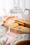 Morning tea concept. Stock Images