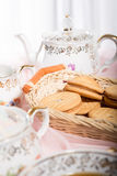 Morning tea concept. Royalty Free Stock Photos
