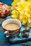 Morning tea Stock Photography